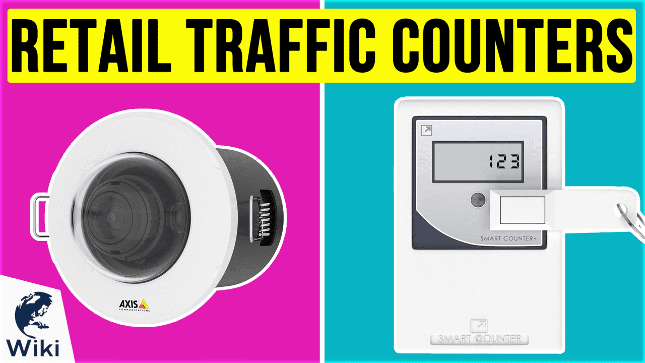 9 Best Retail Traffic Counters
