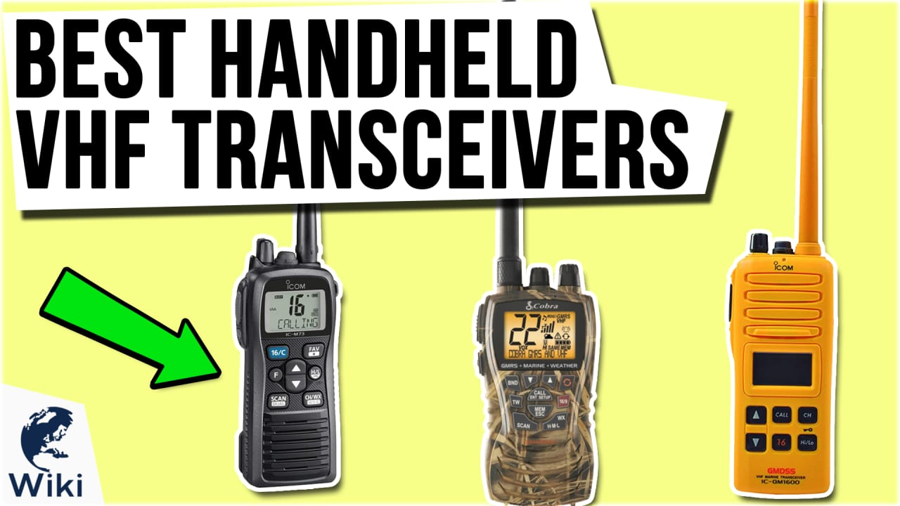 10 Best Handheld VHF Transceivers