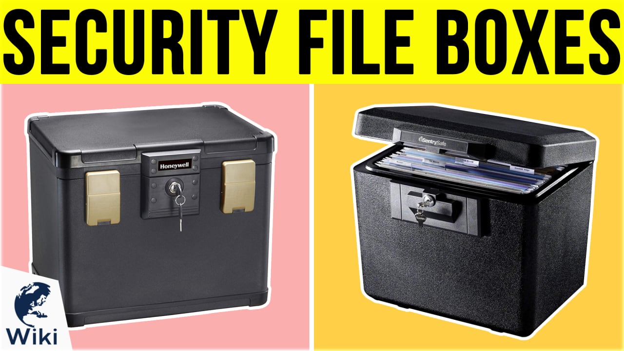 10 Best Security File Boxes
