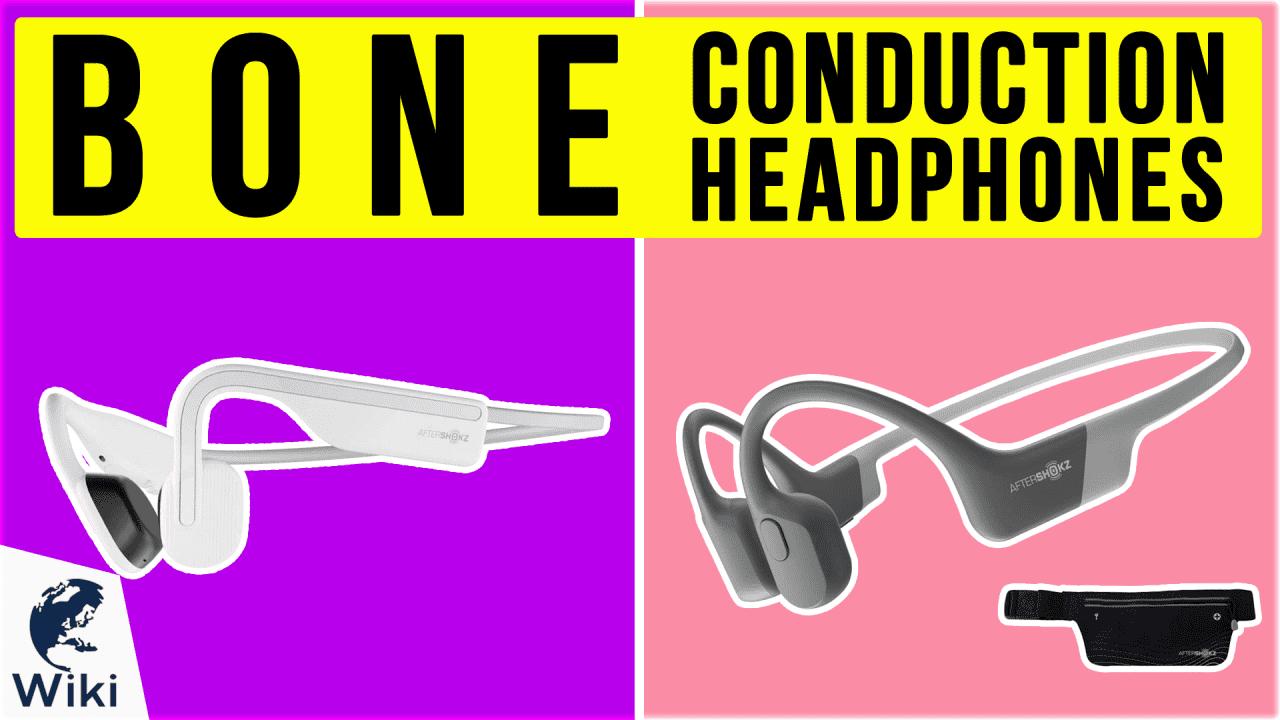 6 Best Bone Conduction Headphones