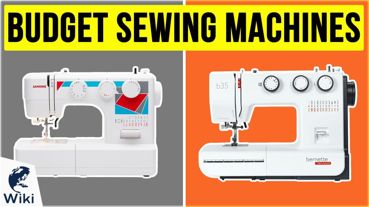 10 Best Budget Sewing Machines