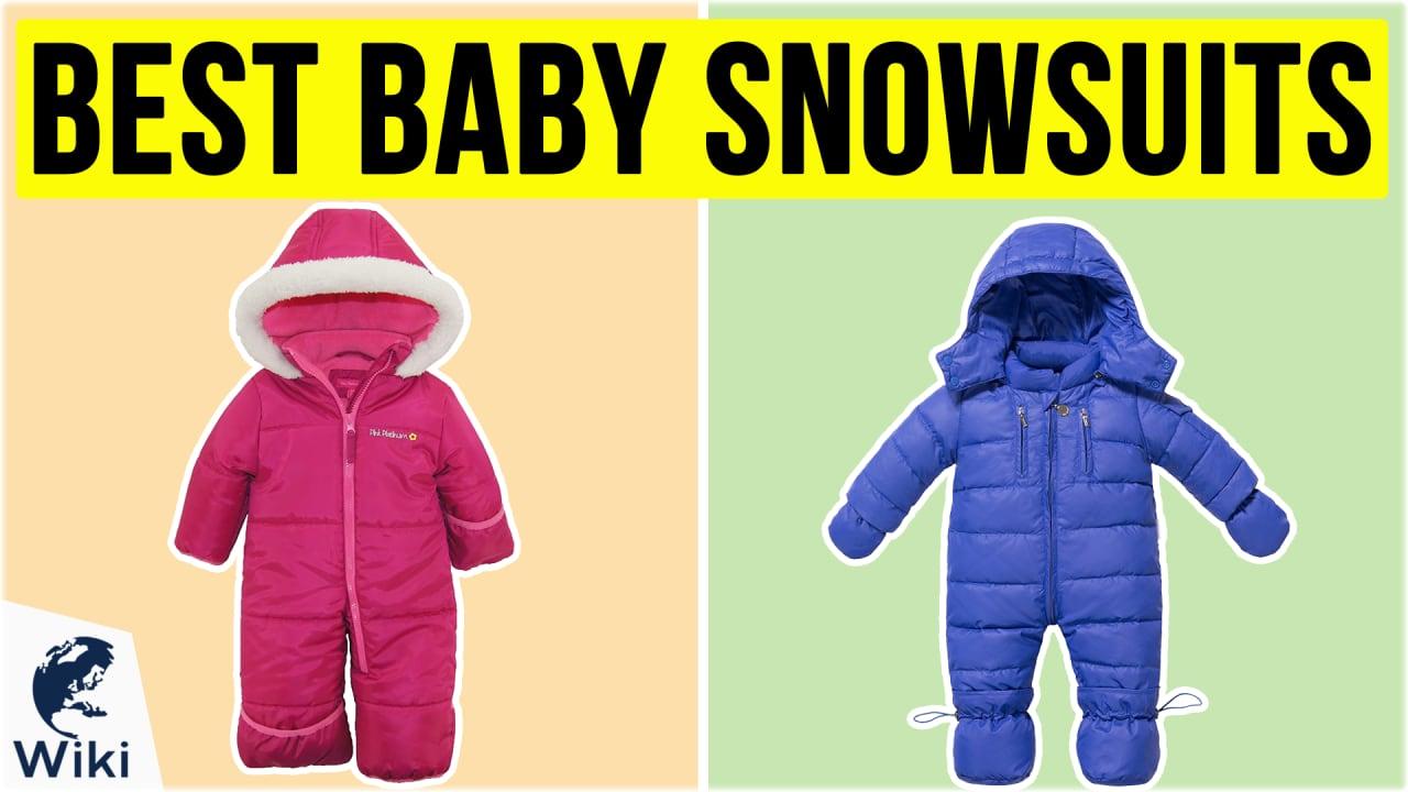 10 Best Baby Snowsuits
