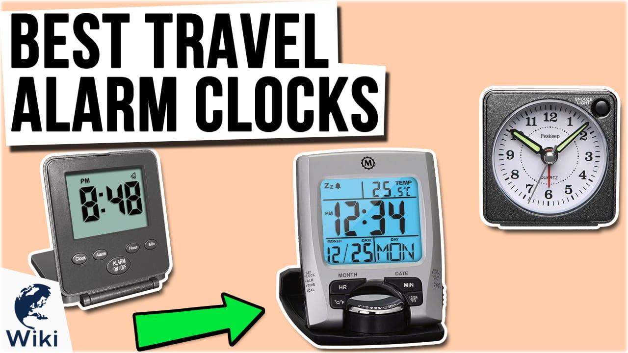 10 Best Travel Alarm Clocks