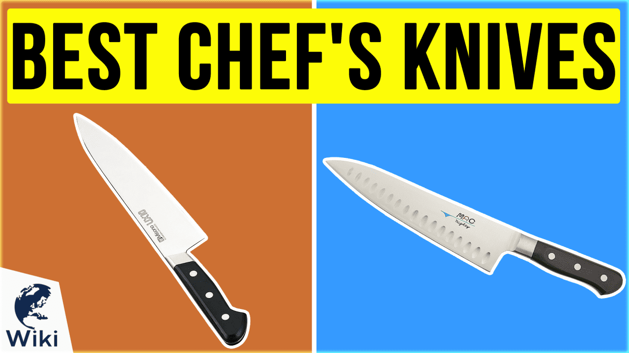 10 Best Chef's Knives