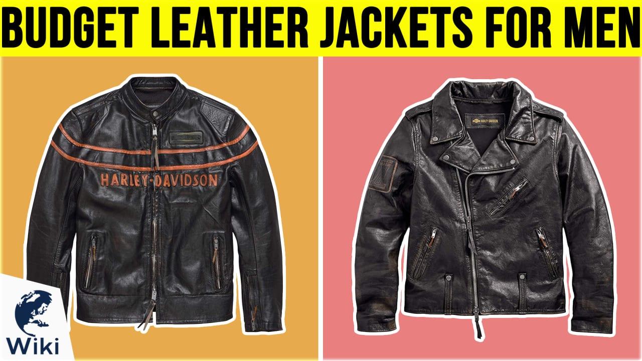 10 Best Budget Leather Jackets For Men