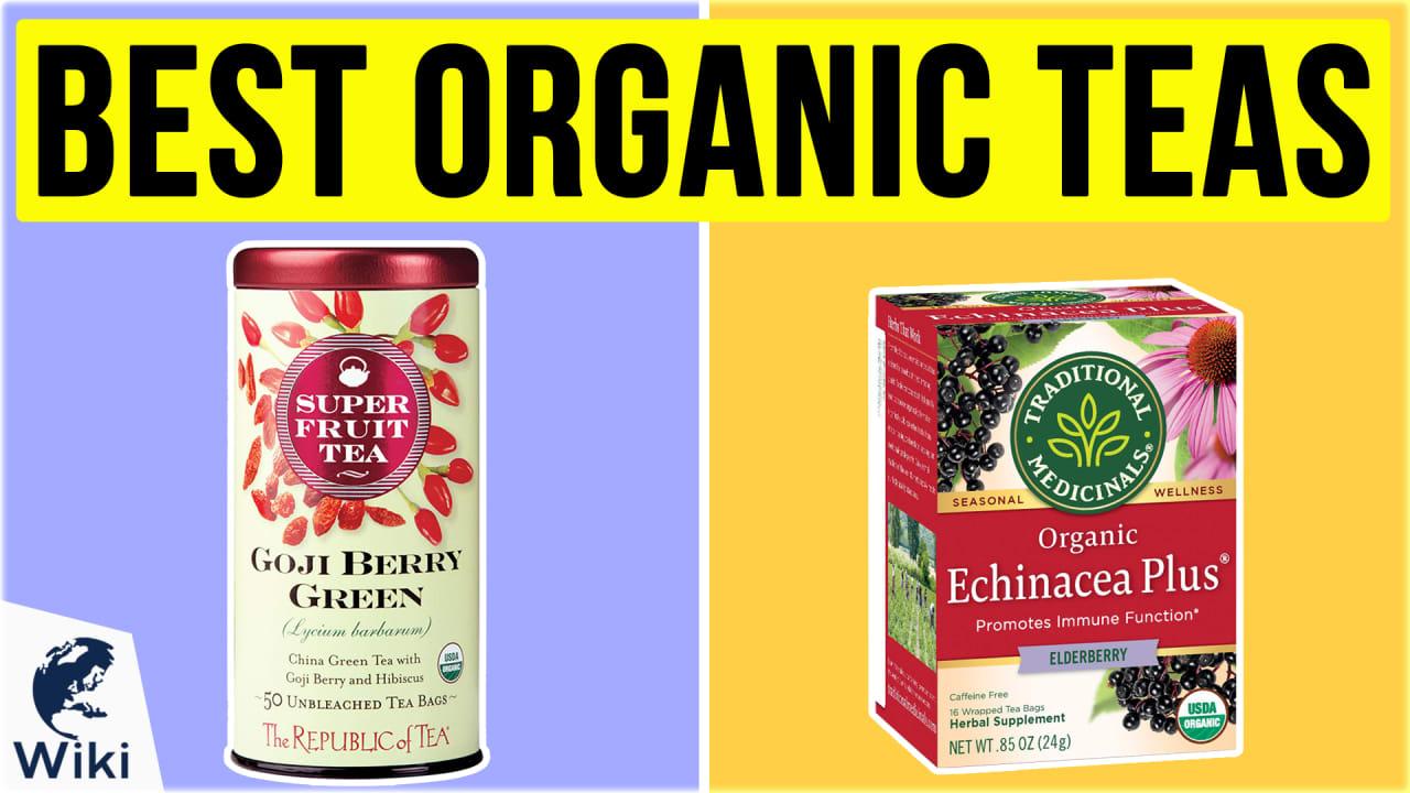 10 Best Organic Teas