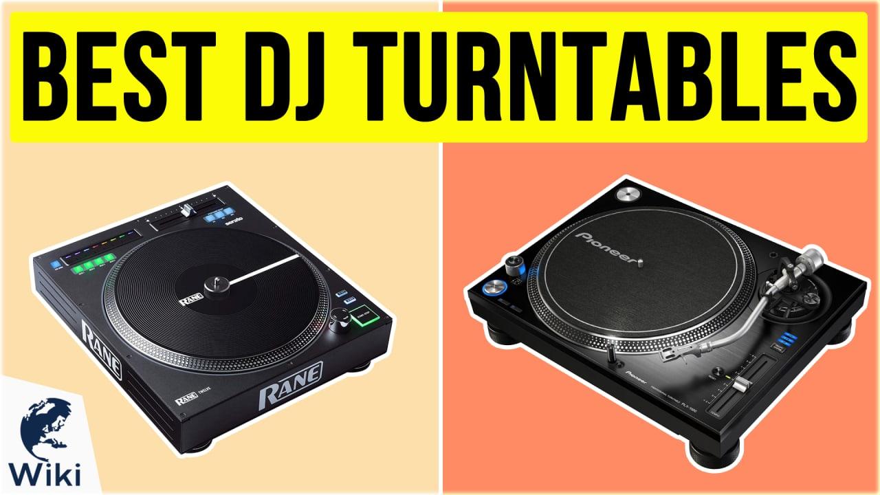 10 Best DJ Turntables