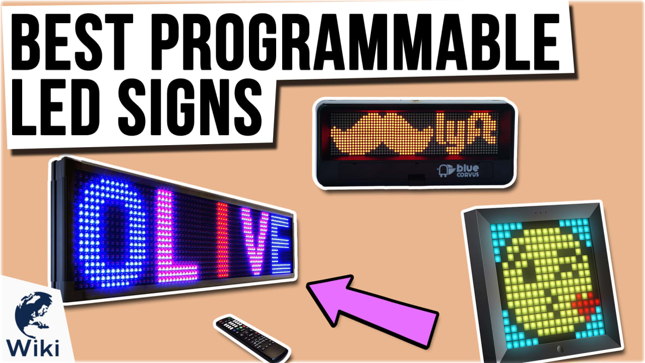10 Best Programmable LED Signs