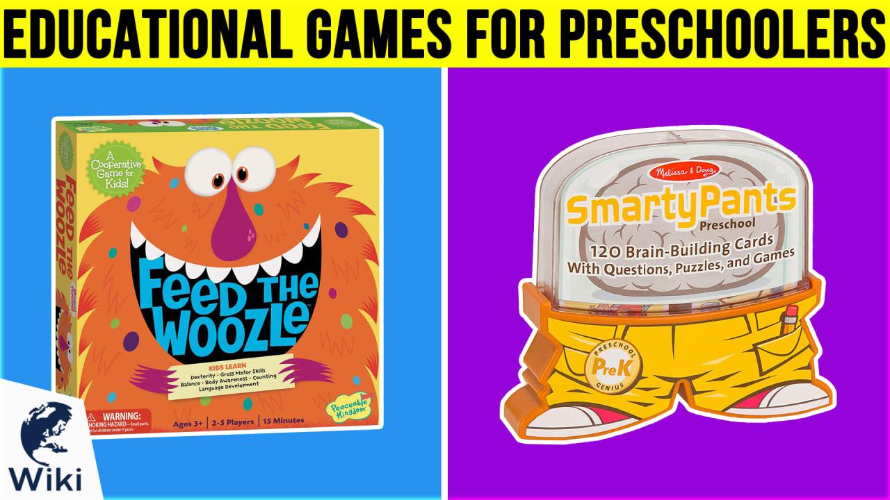 10 Best Educational Games For Preschoolers