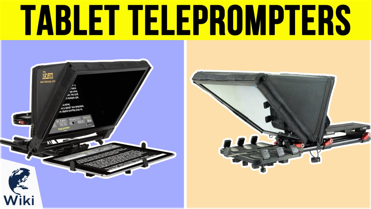 7 Best Tablet Teleprompters