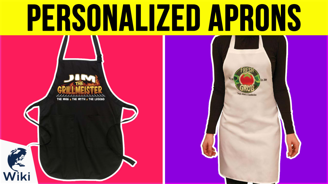 10 Best Personalized Aprons
