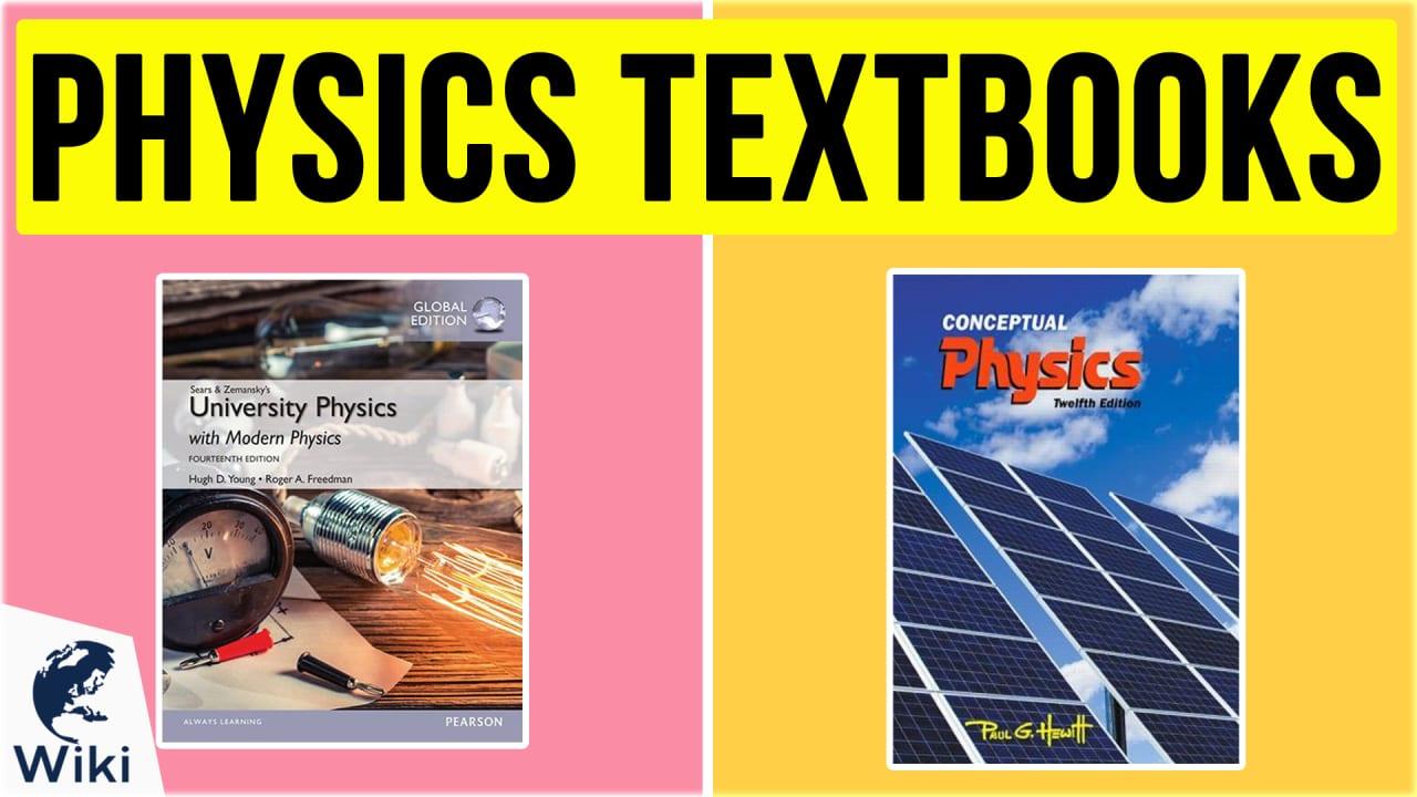 10 Best Physics Textbooks