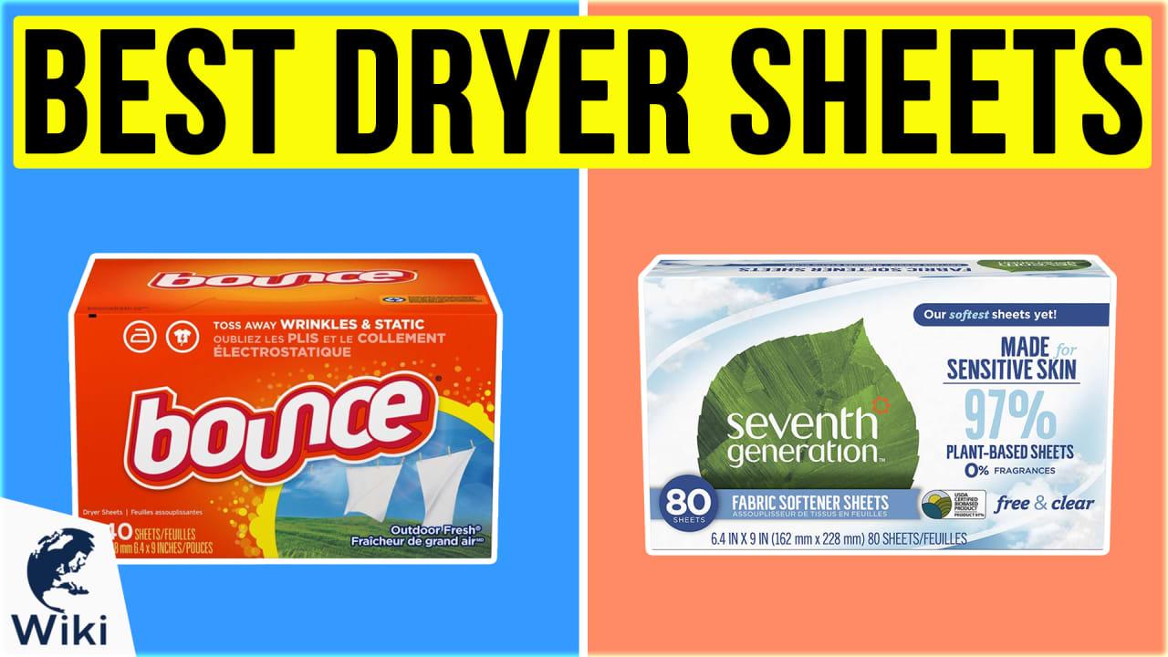 10 Best Dryer Sheets