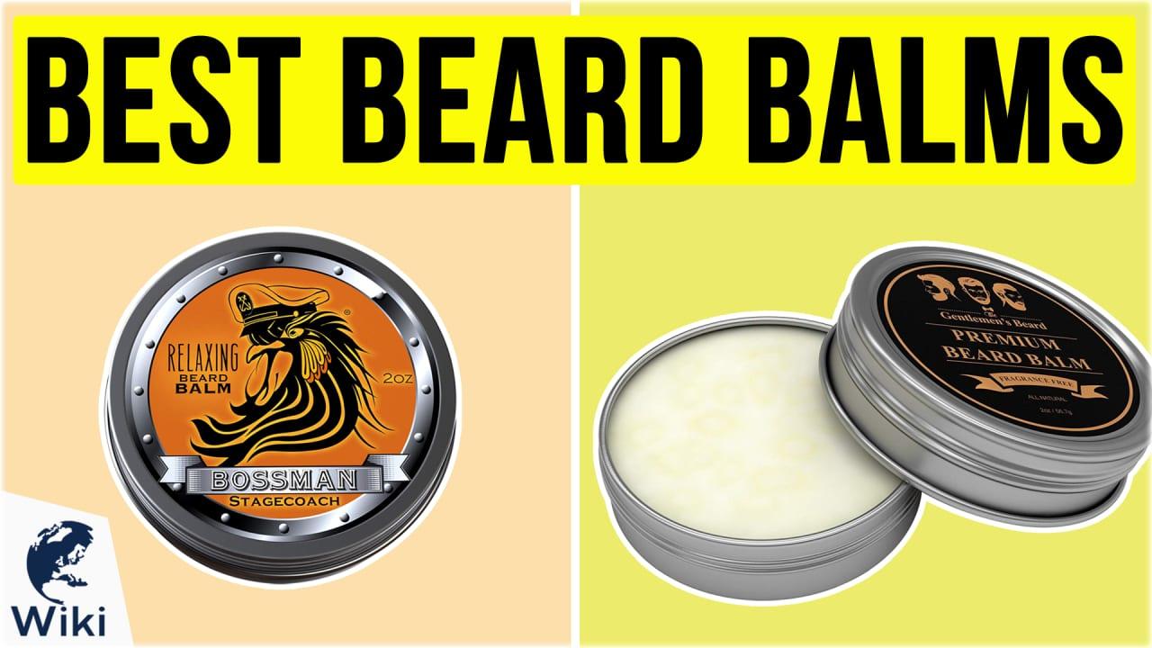 10 Best Beard Balms