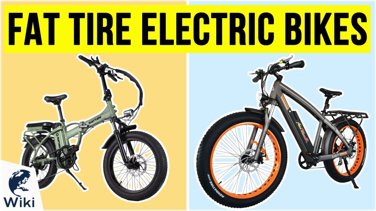 10 Best Fat Tire Electric Bikes