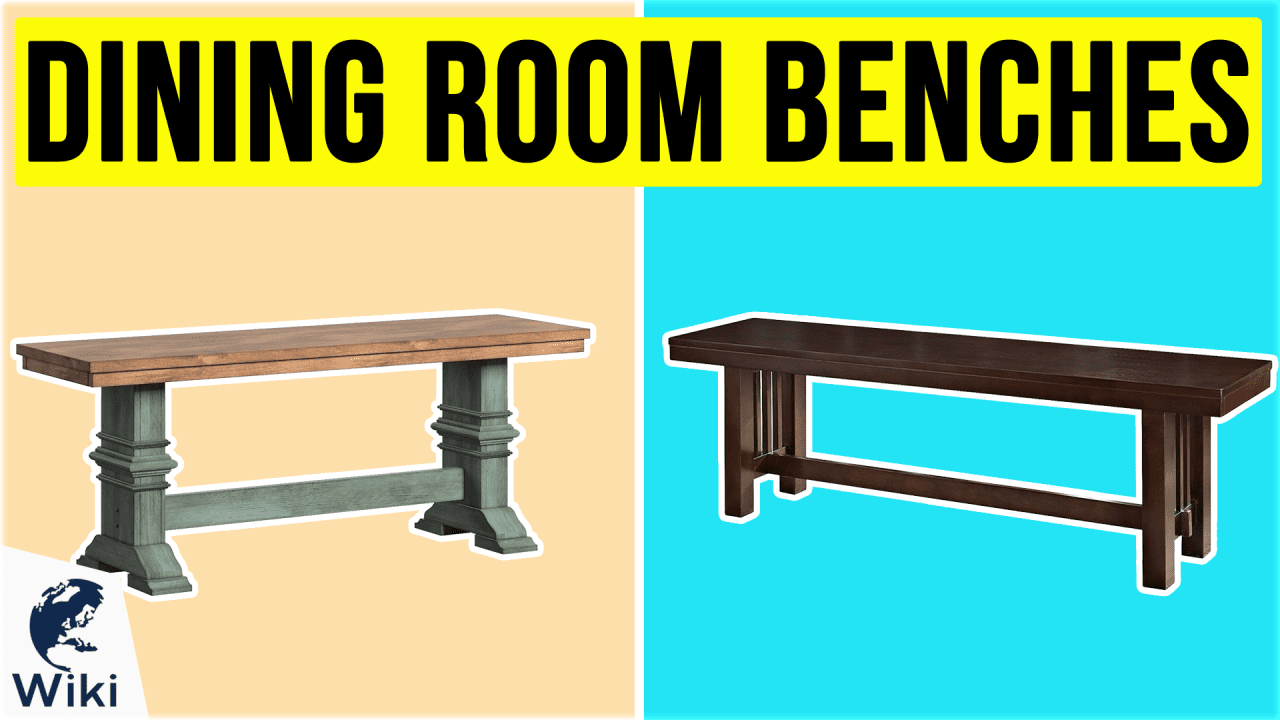 10 Best Dining Room Benches