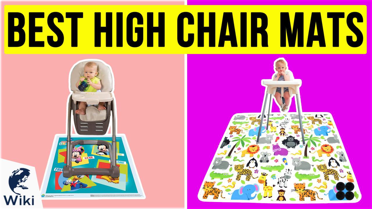 10 Best High Chair Mats