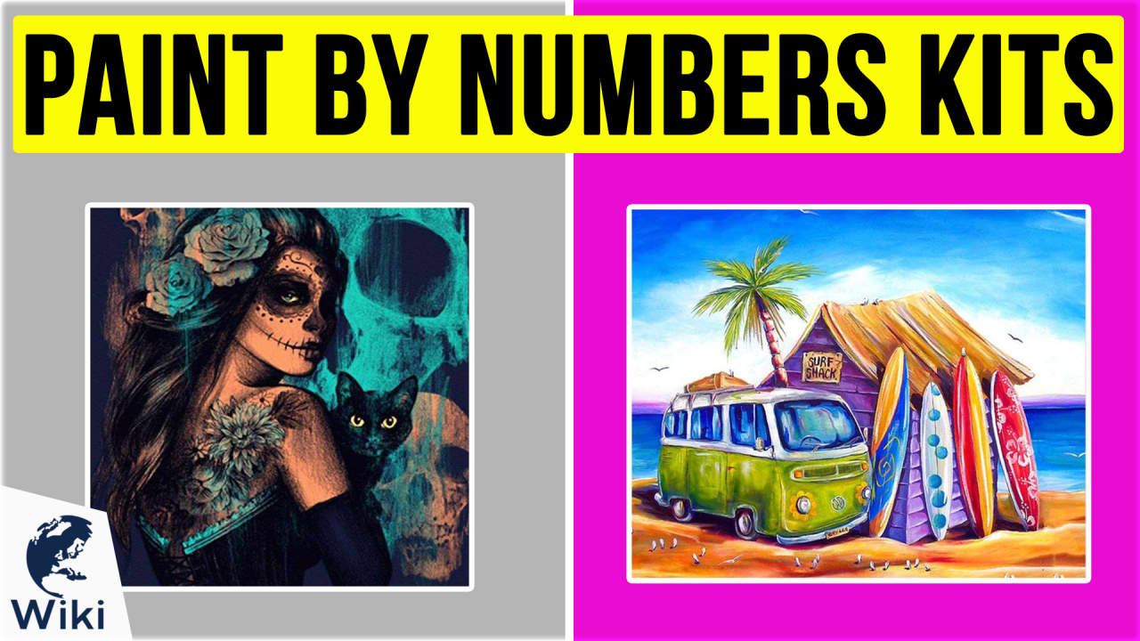 10 Best Paint By Numbers Kits