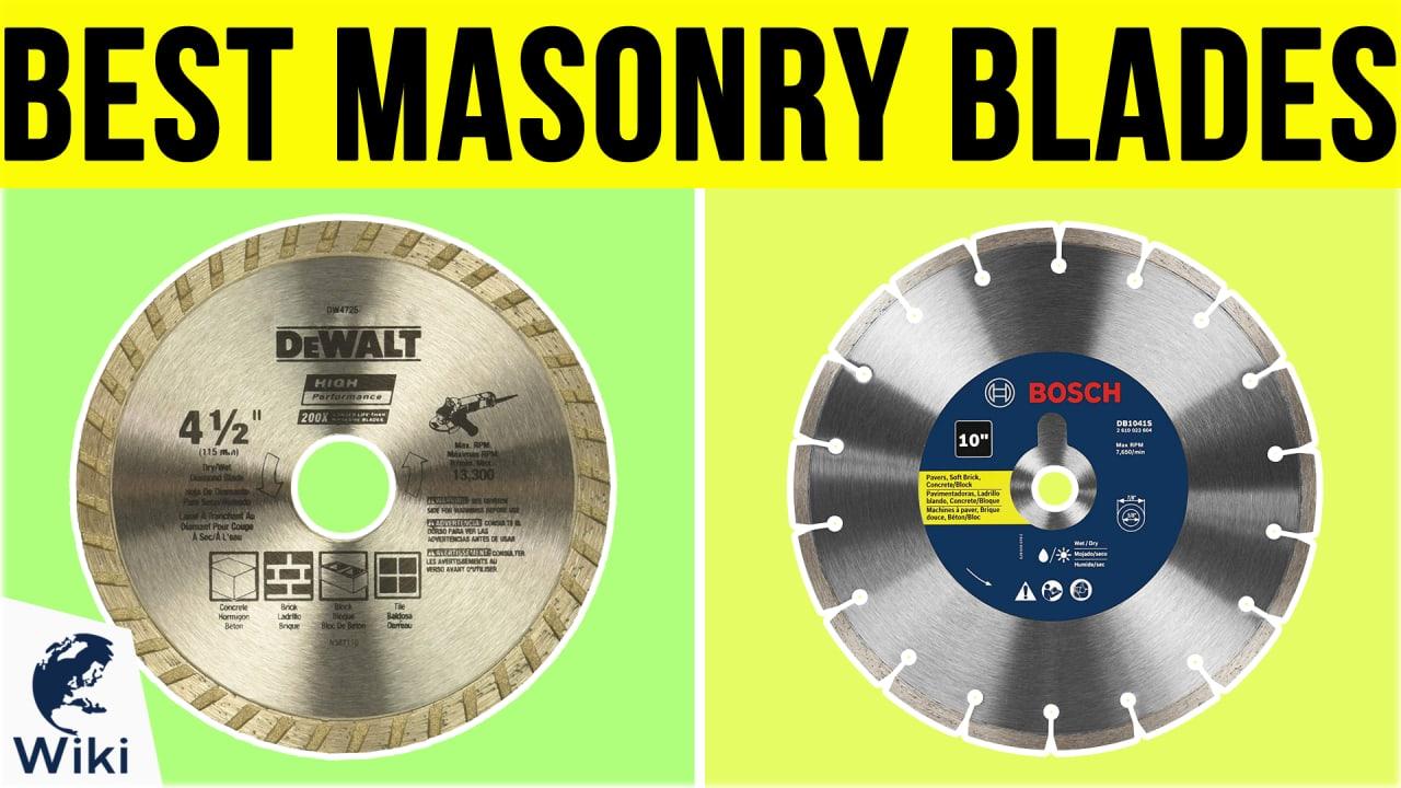 7 Best Masonry Blades