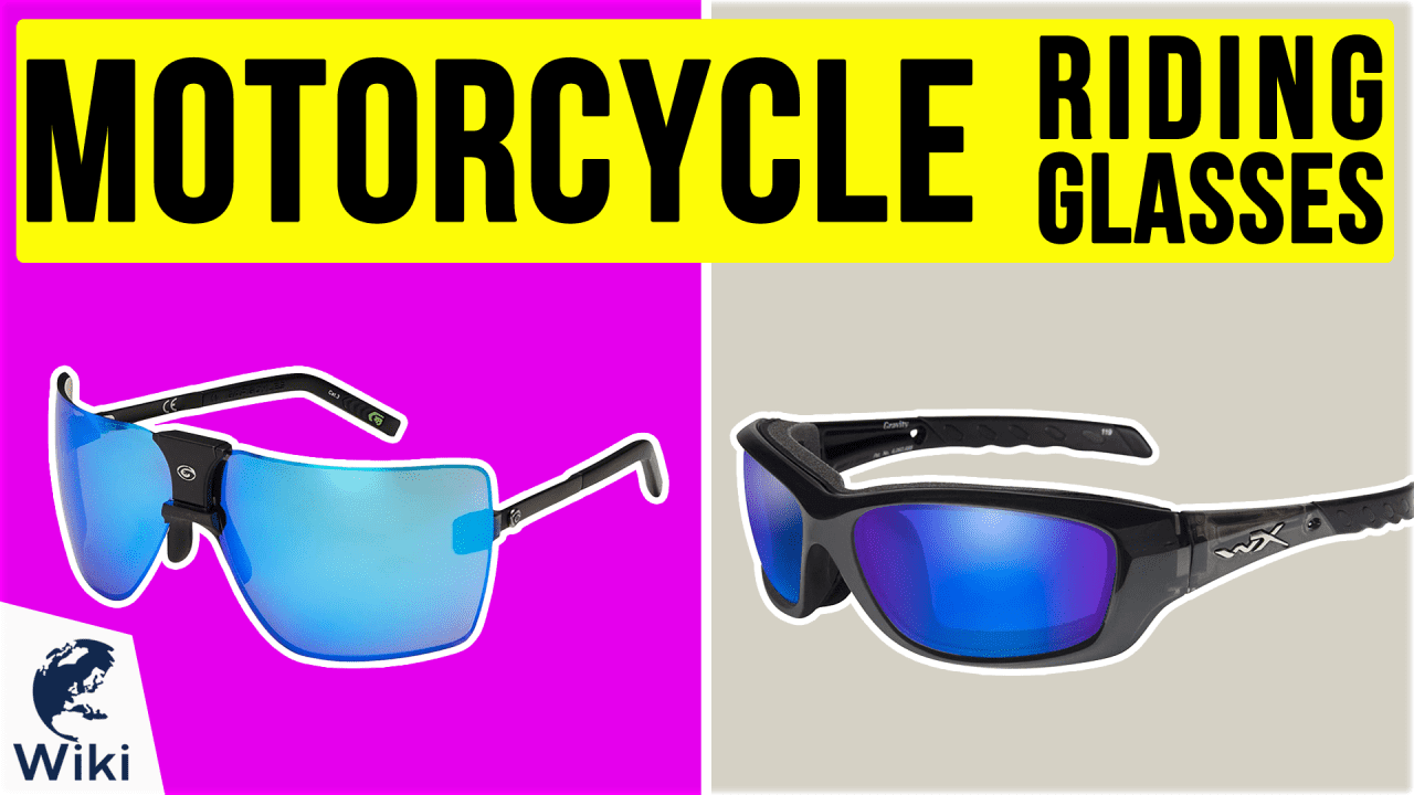 10 Best Motorcycle Riding Glasses
