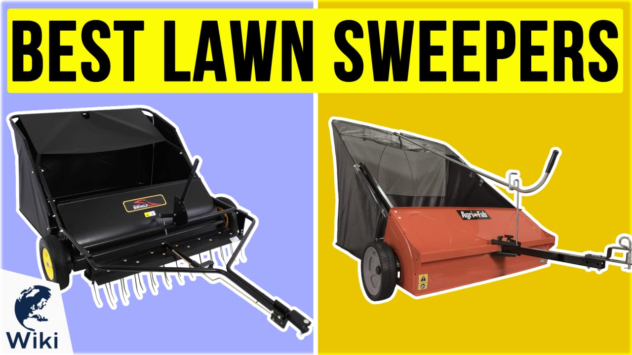 8 Best Lawn Sweepers