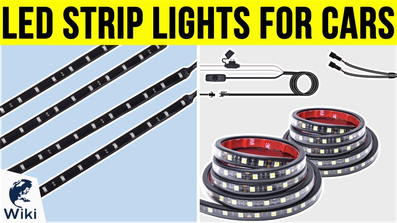 8 Best LED Strip Lights For Cars