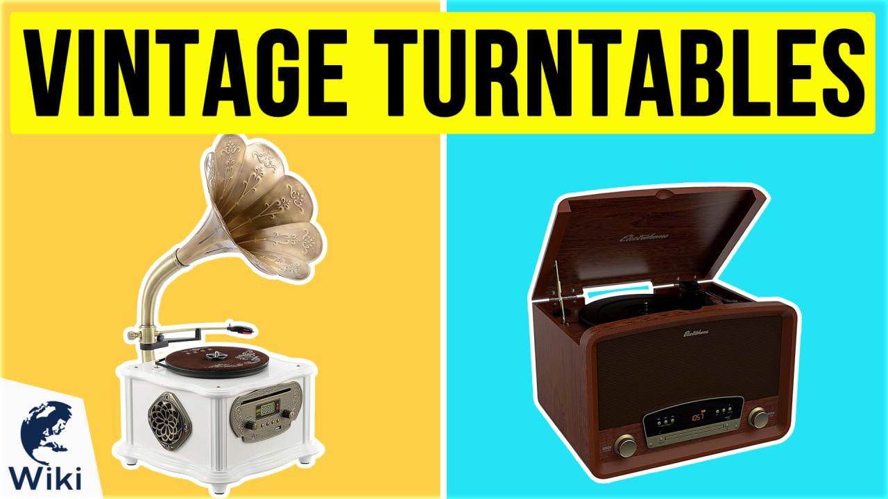 10 Best Vintage Turntables