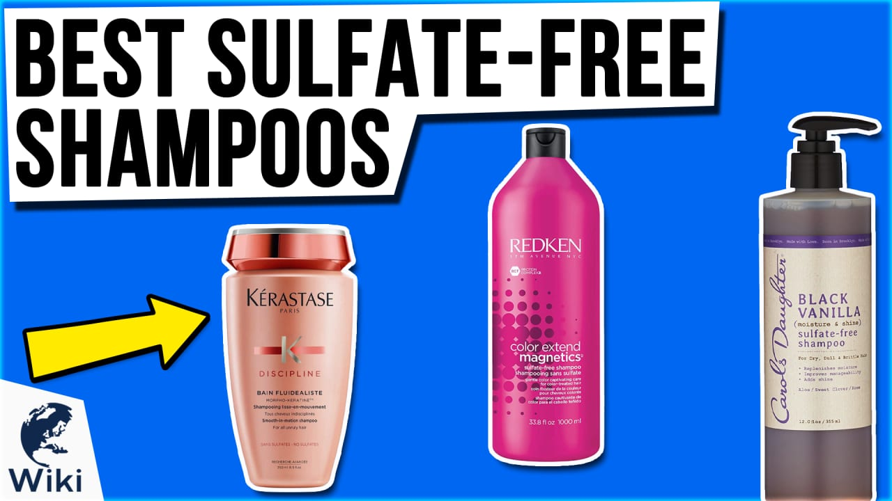 10 Best Sulfate-free Shampoos