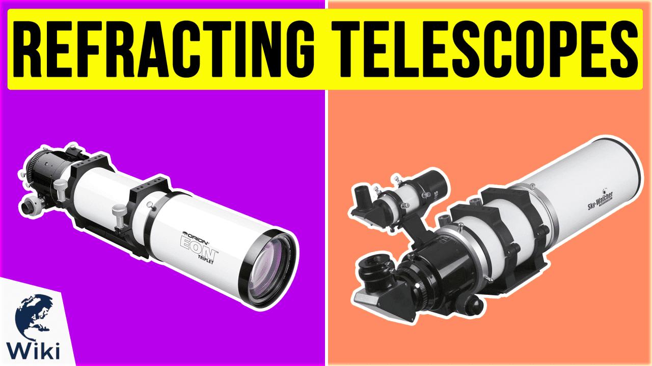 10 Best Refracting Telescopes