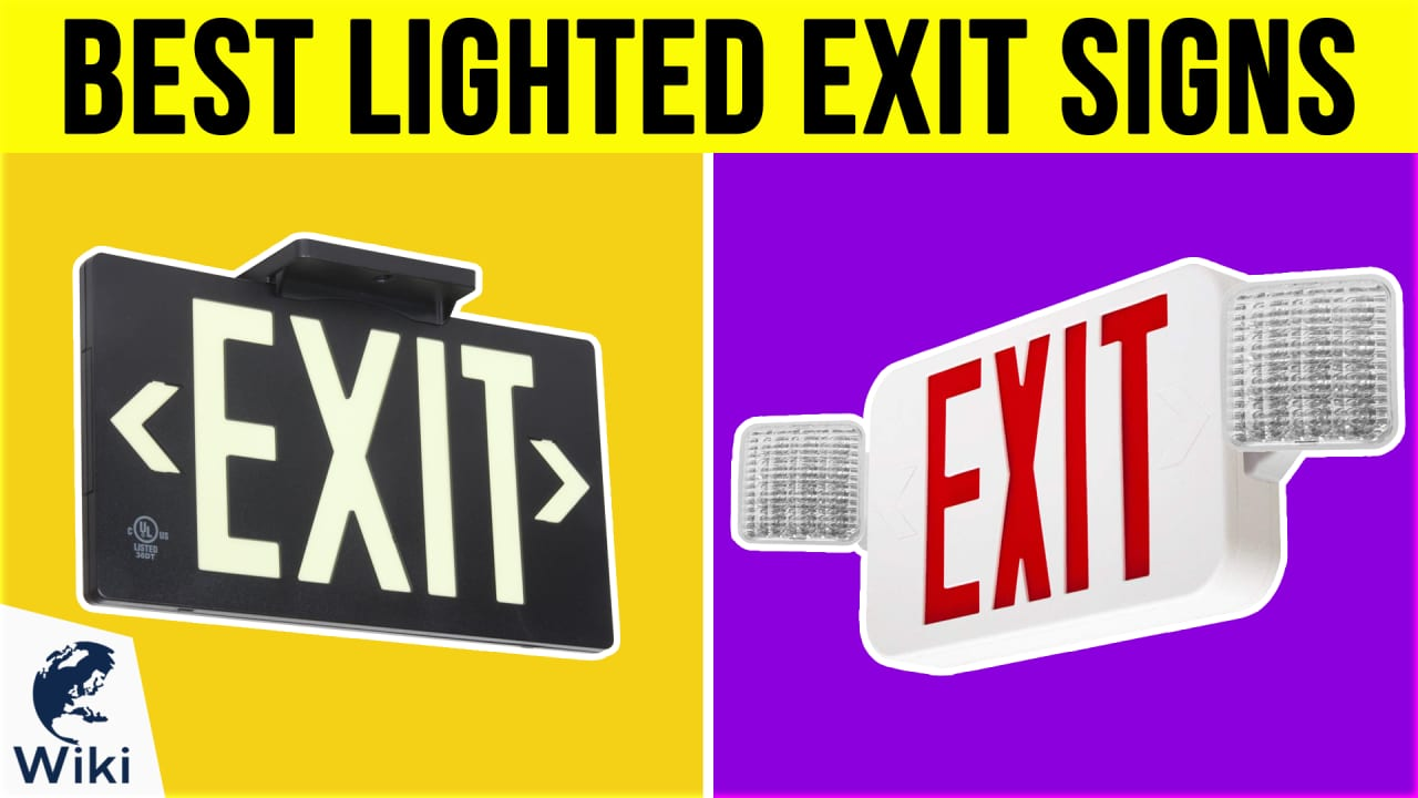 10 Best Lighted Exit Signs