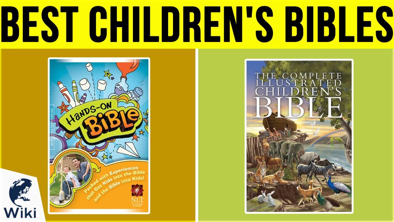 10 Best Children's Bibles