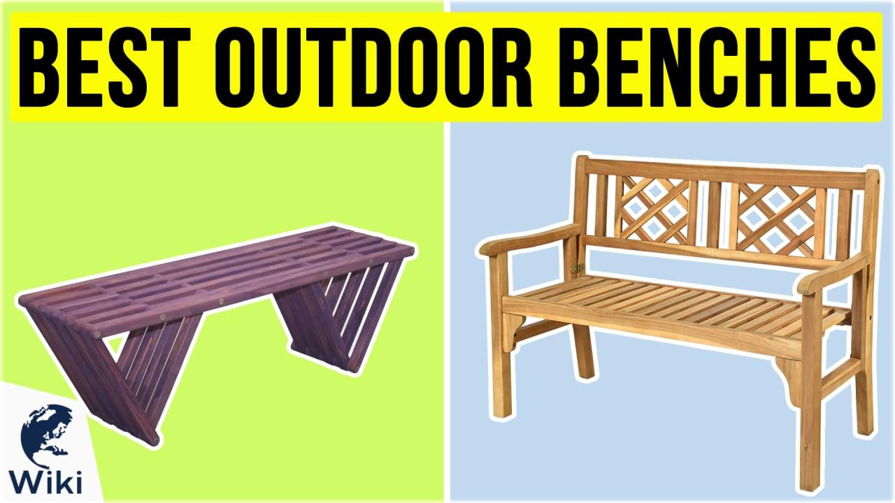 10 Best Outdoor Benches