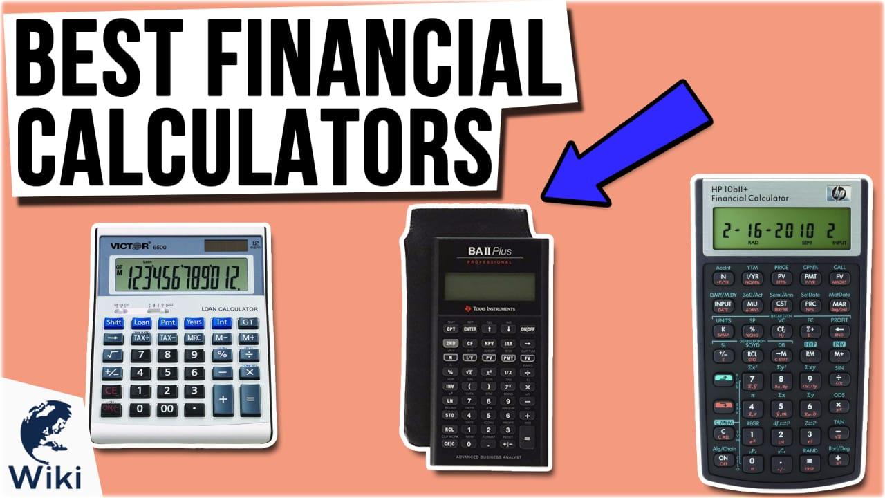 9 Best Financial Calculators