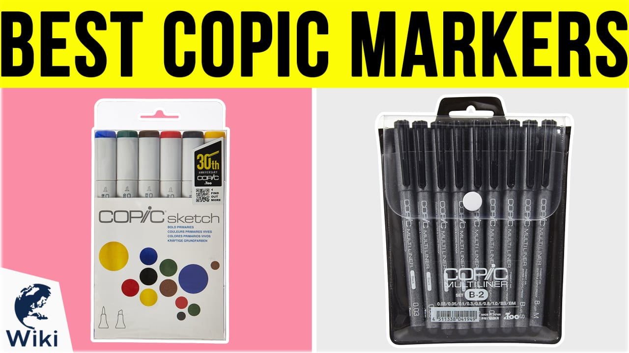 10 Best Copic Markers