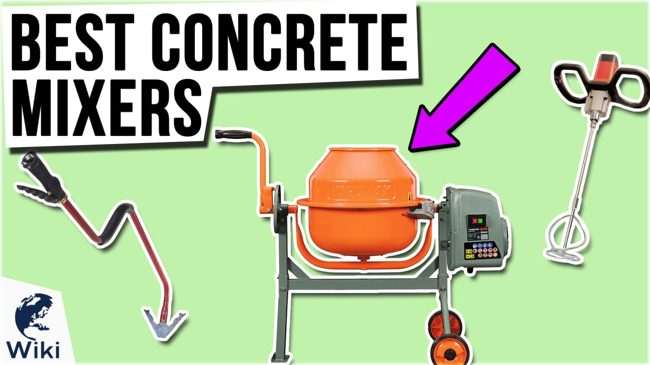 10 Best Concrete Mixers