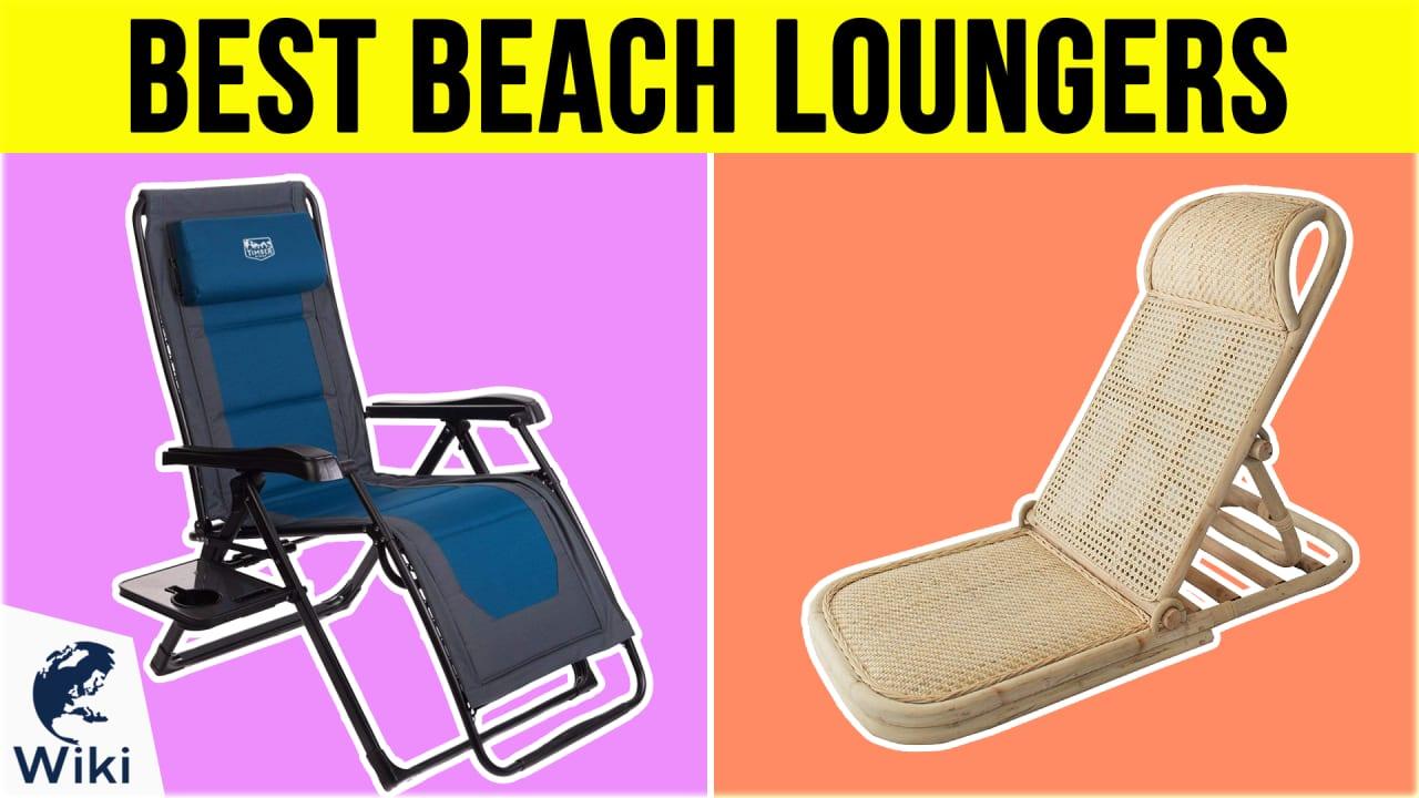 10 Best Beach Loungers