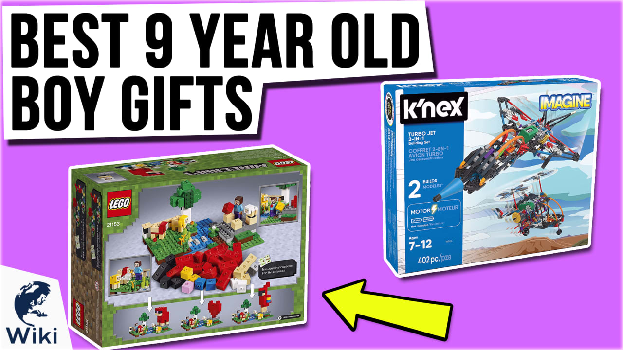 10 Best 9 Year Old Boy Gifts