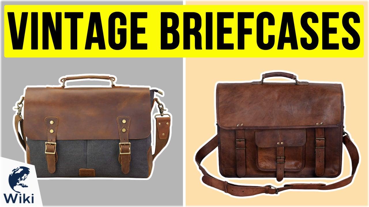 8 Best Vintage Briefcases