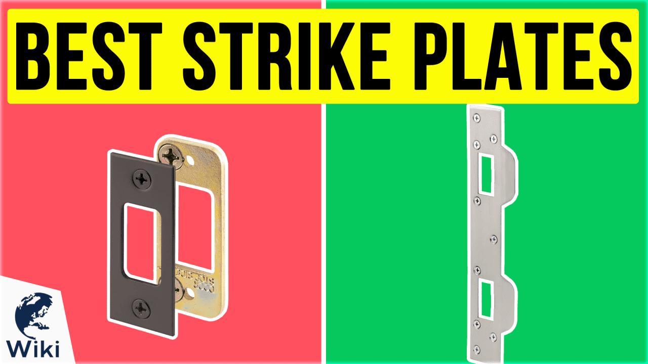 10 Best Strike Plates