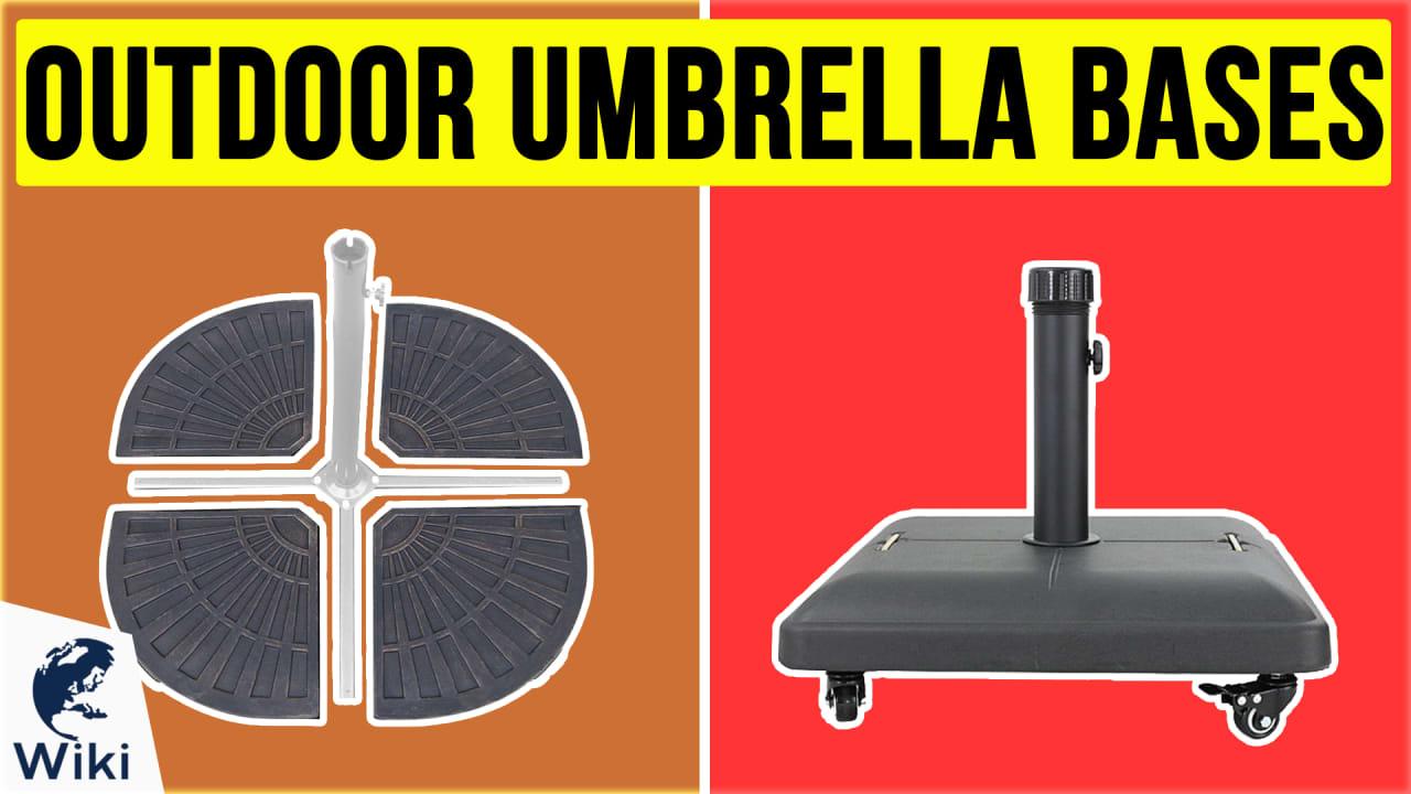 10 Best Outdoor Umbrella Bases