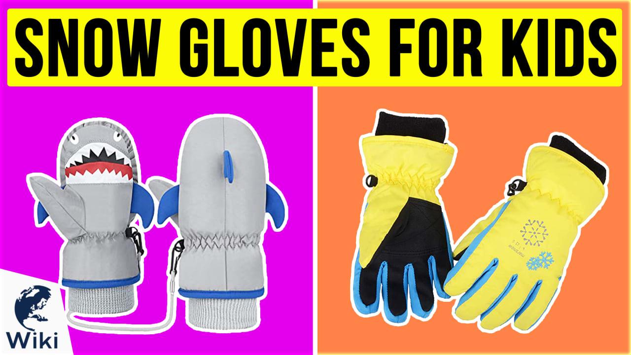 10 Best Snow Gloves For Kids