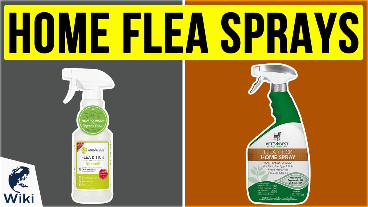 8 Best Home Flea Sprays