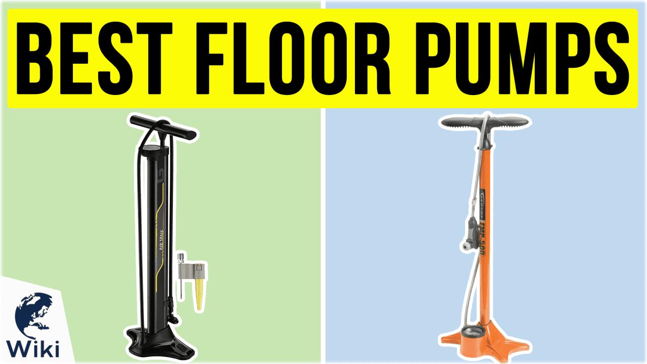 10 Best Floor Pumps