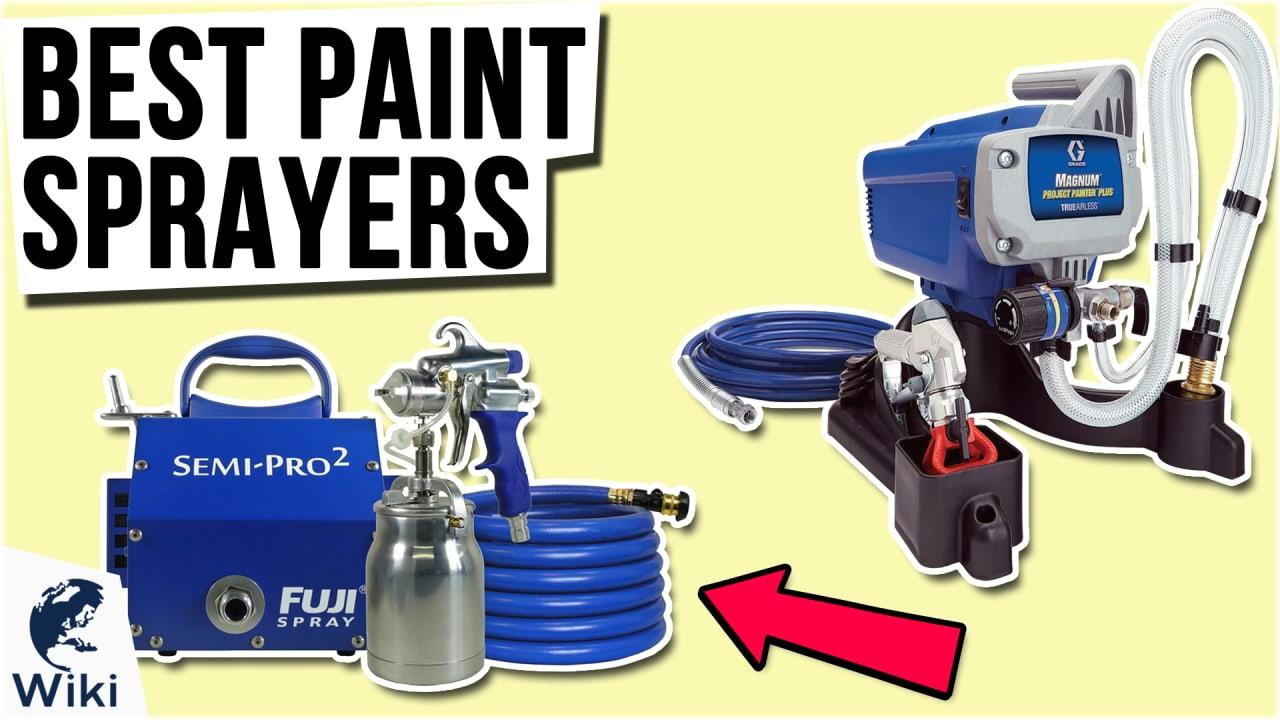 10 Best Paint Sprayers