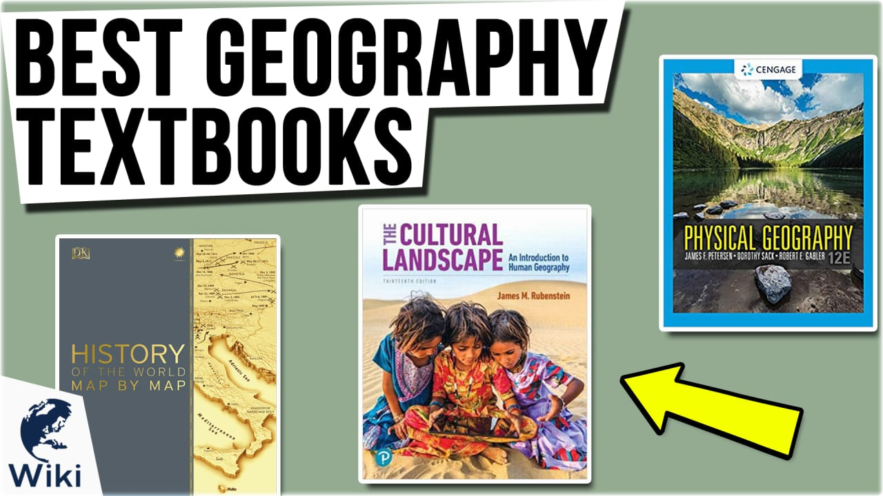 10 Best Geography Textbooks