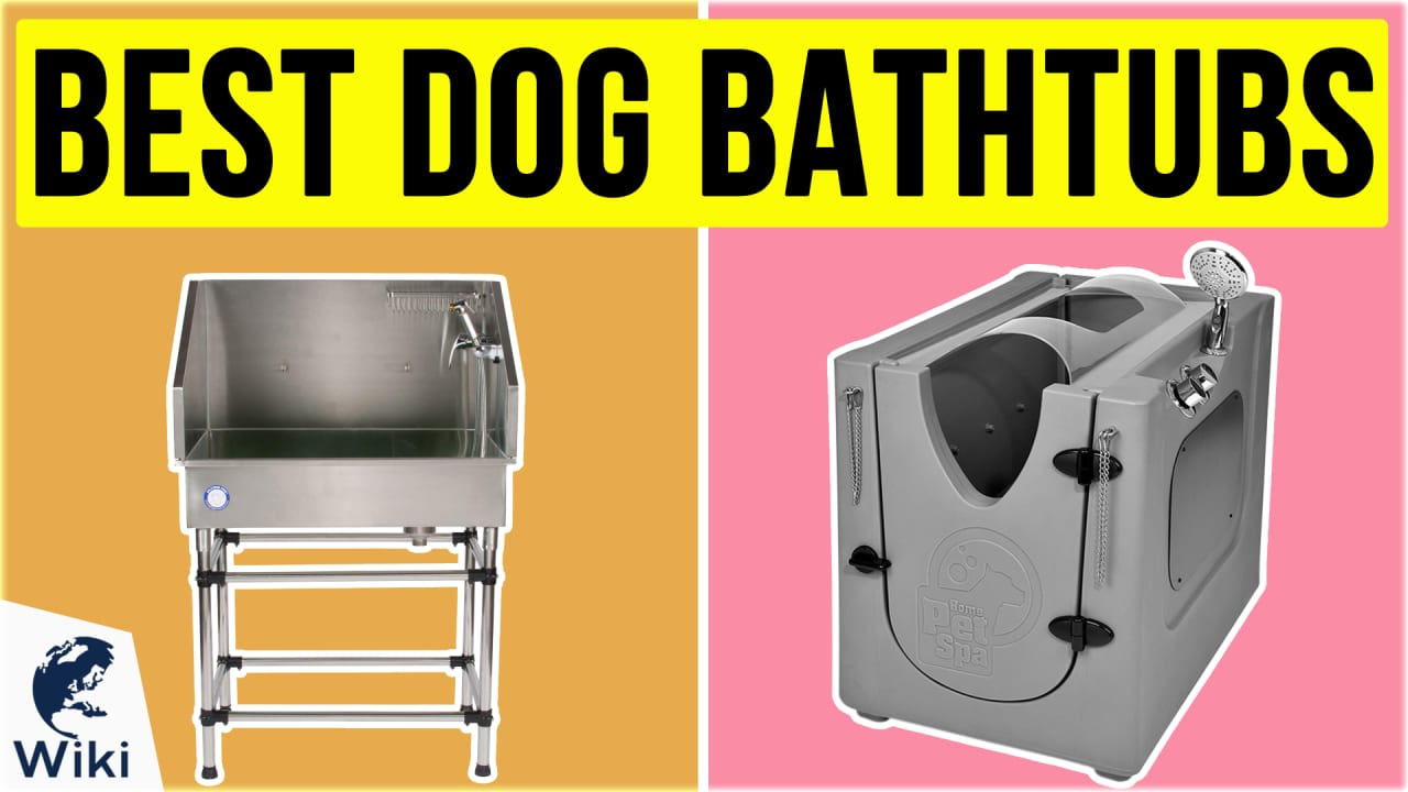 10 Best Dog Bathtubs
