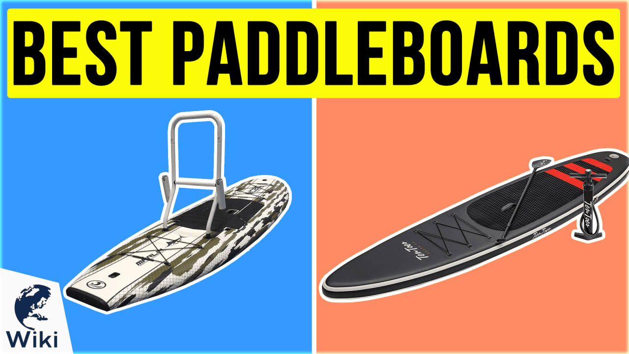 10 Best Paddleboards