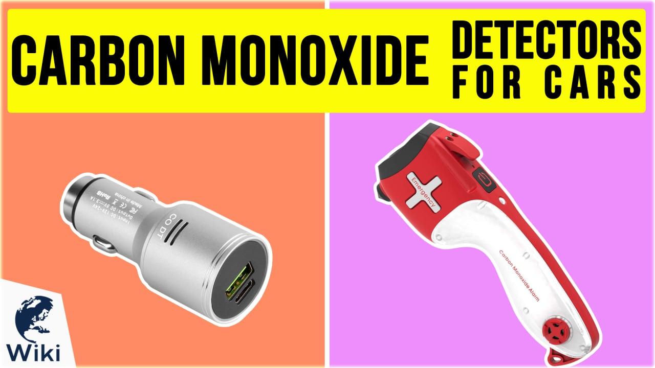 10 Best Carbon Monoxide Detectors For Cars
