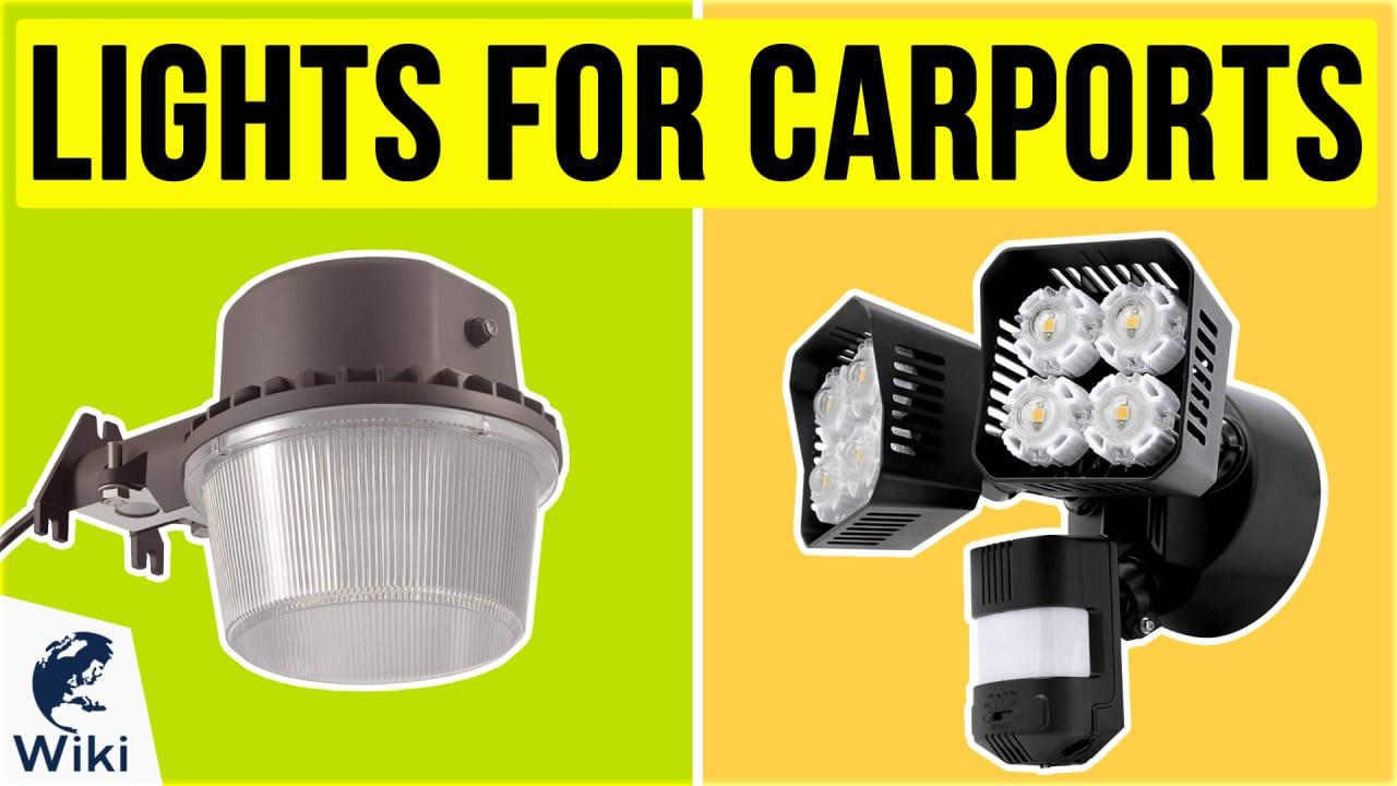 10 Best Lights For Carports