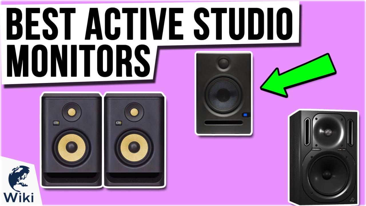 9 Best Active Studio Monitors